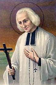 """[Estampa religiosa de San Juan María Vianney, el """"Santo Cura de Ars""""]"""