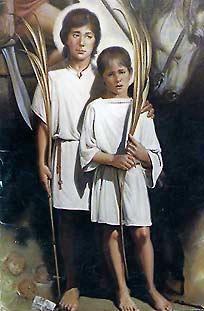 [Santos Niños Justo y Pastor, mártires]